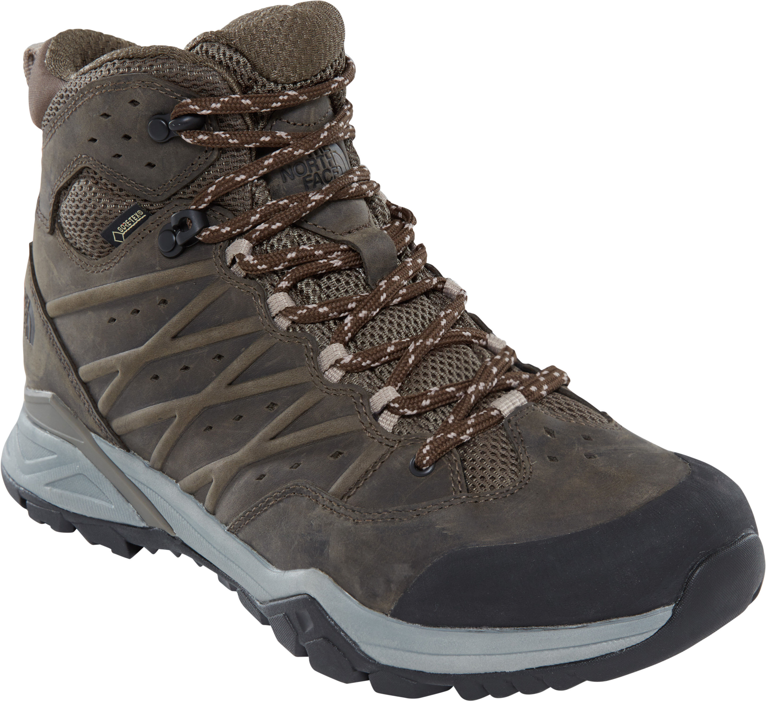 64d8d50193 The North Face Hedgehog Hike II Mid GTX Shoes Men tarmac green/burnt olive  green
